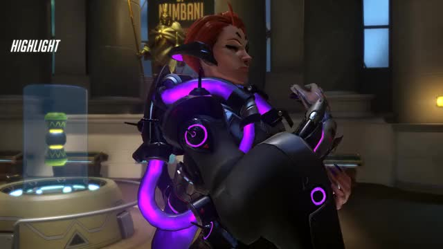 Watch Moira with the laser beam GIF by gamerx219 on Gfycat. Discover more related GIFs on Gfycat