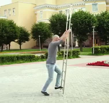 Watch and share Ladder Contortion GIFs on Gfycat
