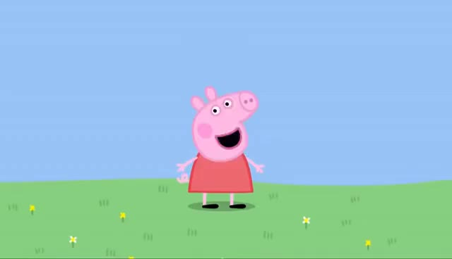 Watch and share Peppa Pig Theme Song GIFs on Gfycat