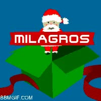 Watch and share Milagros Name Christmas Gift GIFs on Gfycat