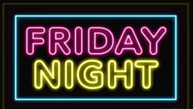 Watch this friday GIF by GIF Queen (@ioanna) on Gfycat. Discover more bar, celebrate, club, excited, friday, friends, go, hang, hangout, happy, neon, night, out, outside, party, pink, relax, sign, weekend, yellow GIFs on Gfycat