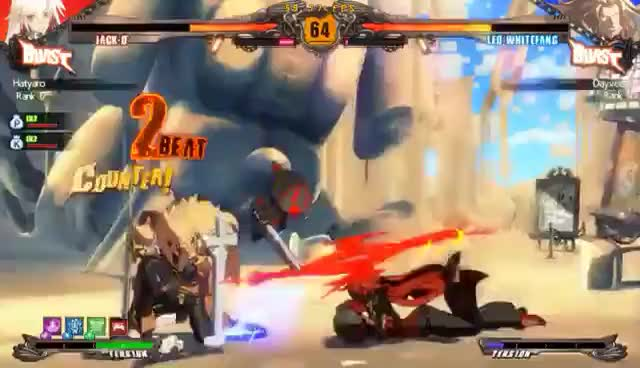 Watch GUILTY GEAR Xrd  REVELATOR GIF on Gfycat. Discover more related GIFs on Gfycat