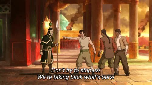 Watch ~hooray for comic relief~ GIF on Gfycat. Discover more legend of korra, lok, m, the ultimatum GIFs on Gfycat