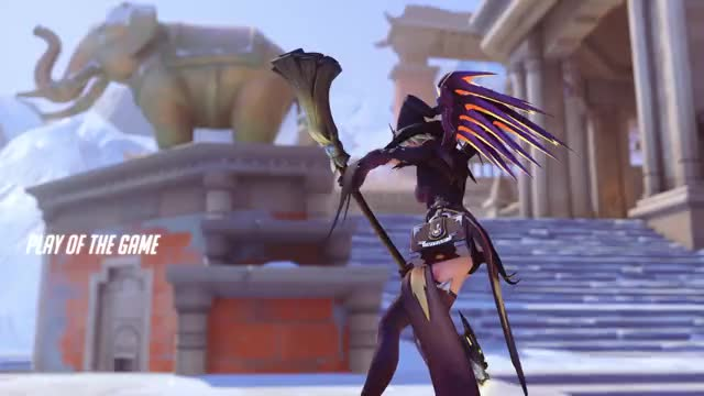 Watch mercy GIF by @lilbaphomet on Gfycat. Discover more ana, overwatch, potg GIFs on Gfycat