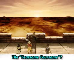 Watch and share The Legend Of Korra GIFs and Fearsome Foursome GIFs on Gfycat