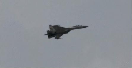 aviation, SU-35 doing an insane roll (reddit) GIFs