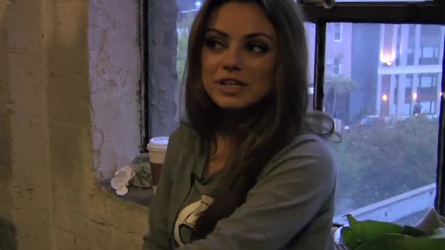 Watch and share Nylon Magazine GIFs and Mila Kunis GIFs on Gfycat