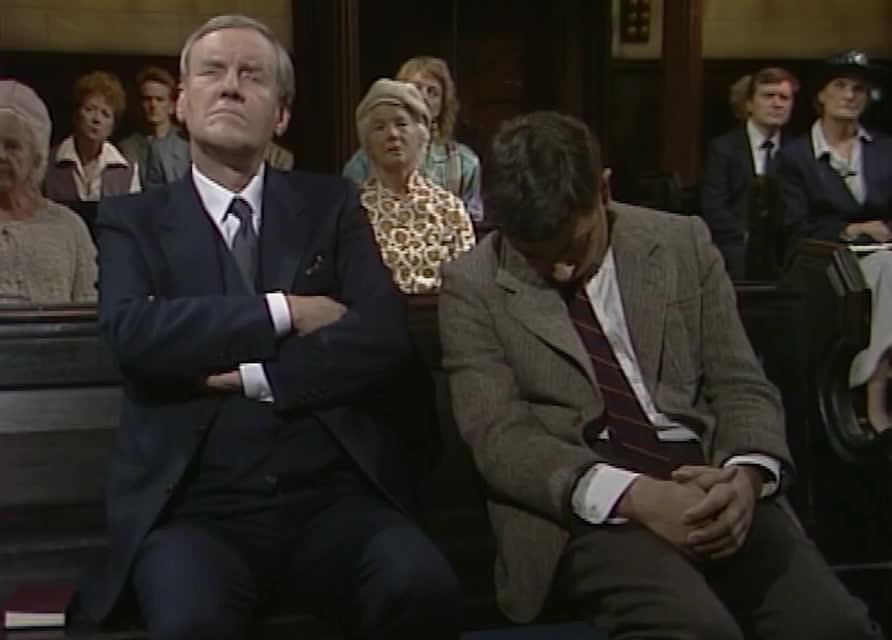 funny, mr bean, rowan atkinson, sleep, wake, Sleepy Mr Bean GIFs