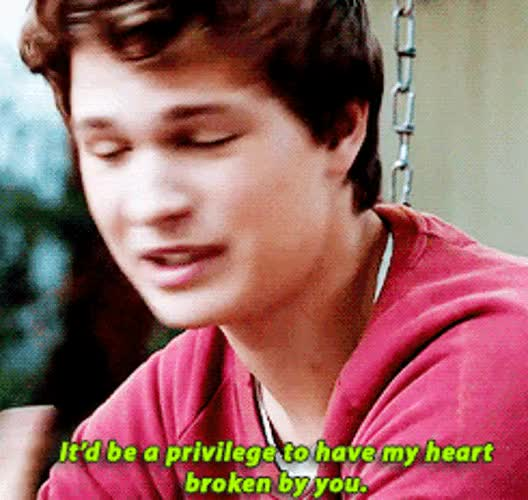 Watch Tfios Gif 5 GIF on Gfycat. Discover more ansel elgort GIFs on Gfycat