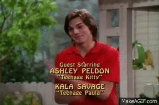 Michael Kelso and His Love for Dogs GIFs