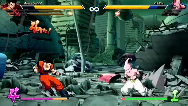 Watch and share Ataques Especiales GIFs and Dbfz Kid Buu GIFs by Julius Victor on Gfycat