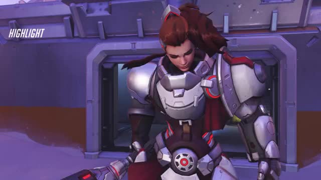 Watch and share Overwatch GIFs and Brigitte GIFs by keegan on Gfycat