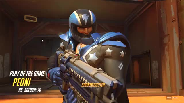 Watch and share Overwatch GIFs and Soldier GIFs on Gfycat
