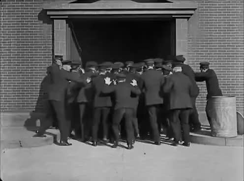 Watch and share Buster Keaton Cops 1922 GIFs on Gfycat
