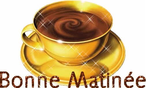 Watch and share Beautiful Bonne Matin Cup Graphic animated stickers on Gfycat