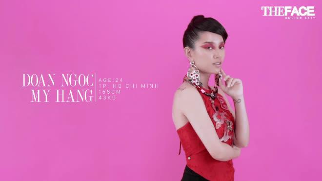 Top 9 The Face Online  Đoàn Mỹ Hằng: Make-up xong, chẳng còn ai nhận ra mình
