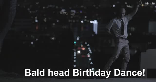 _BaldHeadBdayDance twin song solve soap sci reality pop peaks opera nathan mystery music game funny fi feels dancing barnatt arg alternate GIF