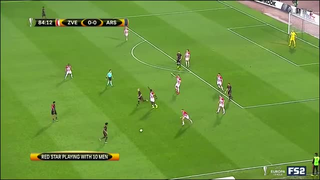 Watch and share FK Crvena Zvezda Vs Arsenal Highlights Video Goals.mp4 GIFs on Gfycat