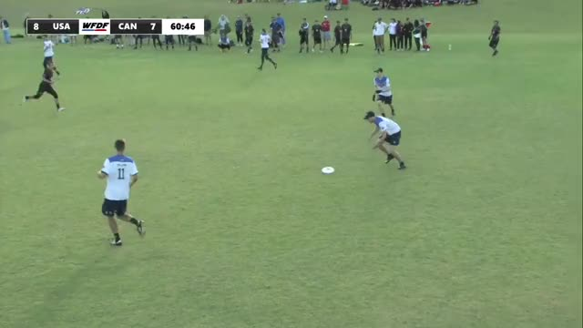 Watch and share WFDF World Under 24 Ultimate Championship: QF USA VS CAN - Mens GIFs on Gfycat