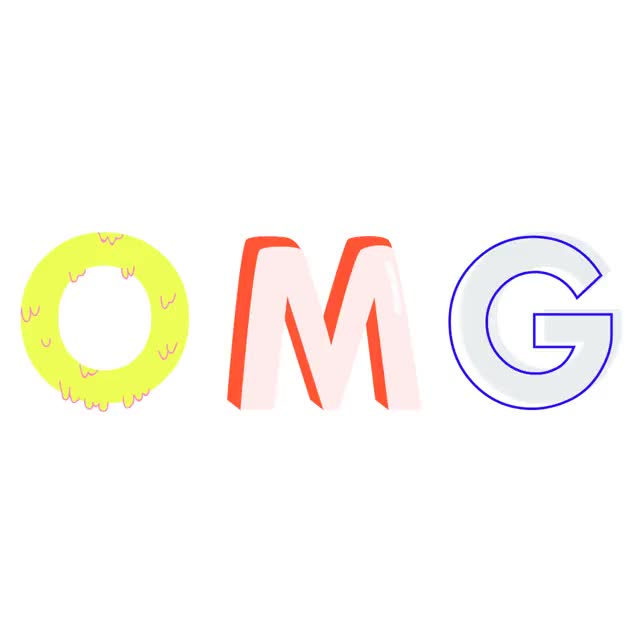 Watch this omg GIF by The GIF Smith (@sannahparker) on Gfycat. Discover more gabriella sanchez, omg, typography GIFs on Gfycat