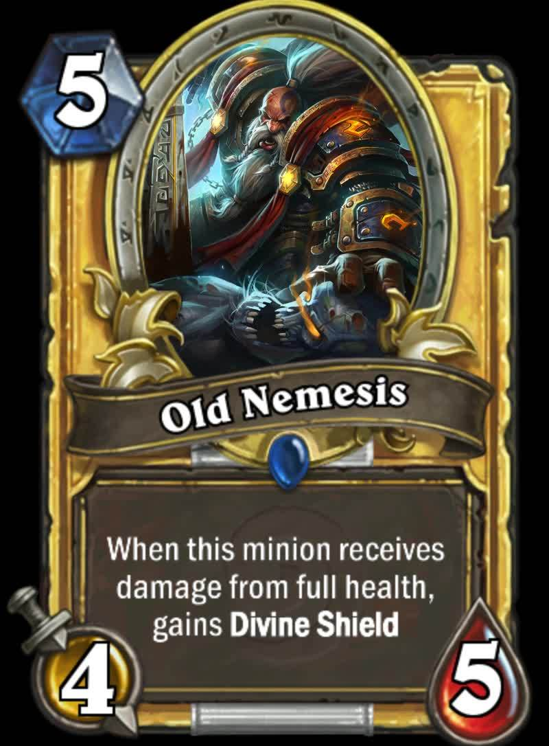 customhearthstone, hearthstone, Hero's Journey - [Crappy Gold Edition] (reddit) GIFs