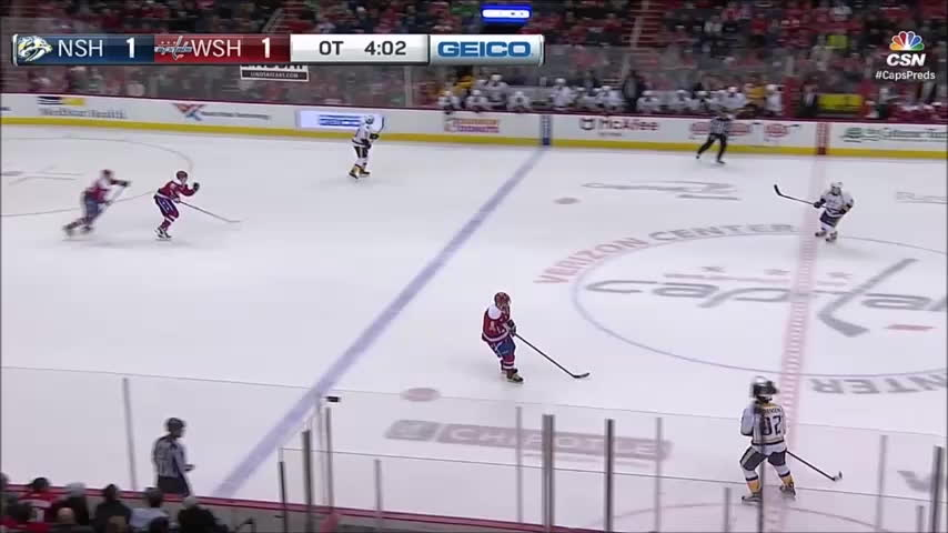 Predators, hockey, Predators @ Capitals OT goal GIFs
