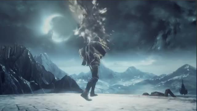 Watch Dark Souls III – PC/PS4/X1 – Ashes of Ariandel (DLC #1 announcement) (English Trailer) GIF on Gfycat. Discover more bandai namco entertainment, bandai namco entertainment europe, namco bandai GIFs on Gfycat