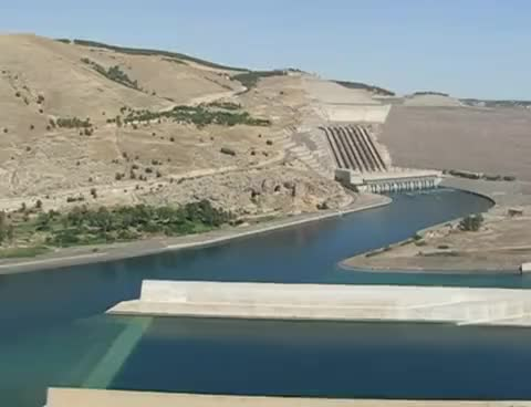Watch and share Turkey 23 Ataturk Dam GIFs on Gfycat