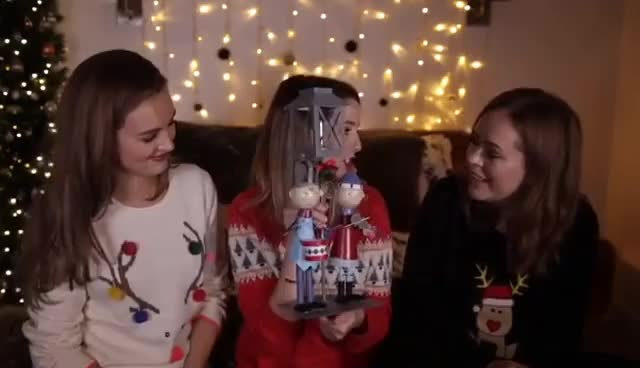 Watch Gift Exchange With Tanya & Niomi | Zoella GIF on Gfycat. Discover more related GIFs on Gfycat