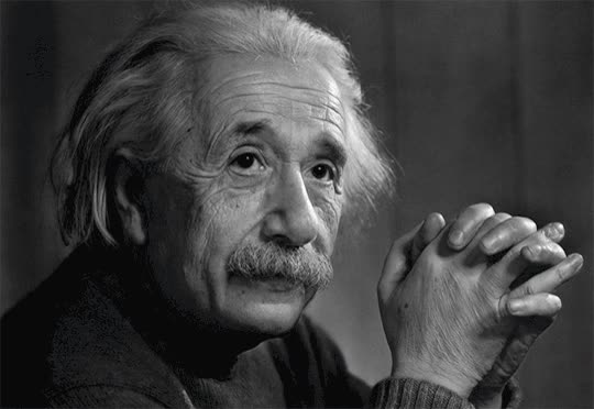 Watch and share Albert Einstein GIFs on Gfycat