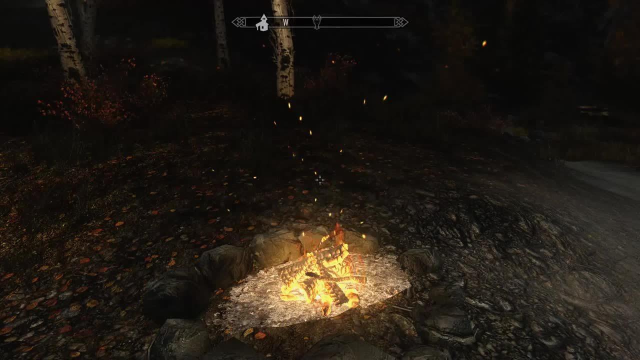 skyrimmods, Campfire Perk System GIFs