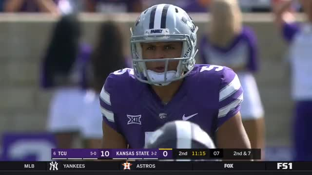Watch and share NCAA 2017 Week 07 TCU At Kansas State GIFs on Gfycat