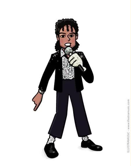 Watch and share Gif Animé Michael Jackson GIFs on Gfycat