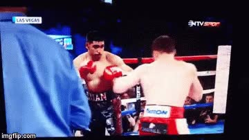 Watch Canelo Alvarez - Amir Khan KNOCK-OUT GIF on Gfycat. Discover more related GIFs on Gfycat