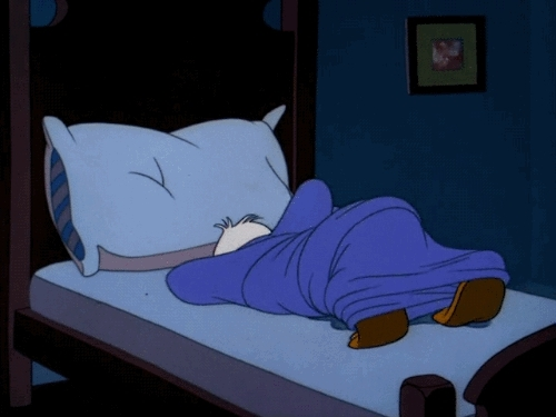 1940s, 1948, Drip Dippy Donald, animation, bed, can't sleep, cartoons, donald duck, gif, my gif, pillow, tumblr nt zCAR wio GIFs