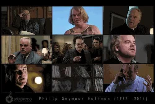 """Watch Philip Seymour Hoffman""""Una vez, mientras rodabamos, alguien  GIF on Gfycat. Discover more actor, cine GIFs on Gfycat"""