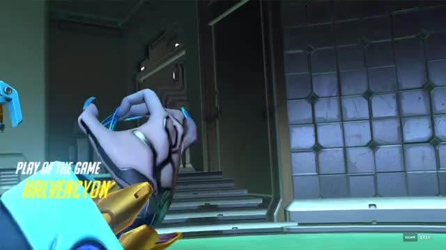 Watch and share Overwatch GIFs and Gold Gun GIFs by Ven on Gfycat