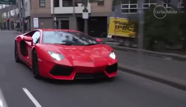 Watch and share 2015 Lamborghini Aventador Review | Drive.com.au GIFs on Gfycat