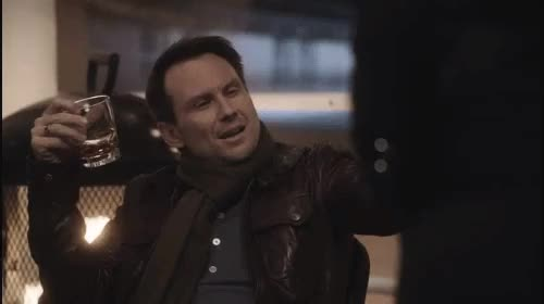 Watch and share Christian Slater GIFs and Megan Mullally GIFs on Gfycat