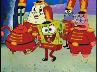 Watch and share Spongebob Band GIFs on Gfycat