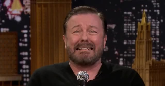 Watch and share Ricky Gervais GIFs by Grower of GIFs on Gfycat