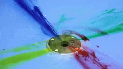 Watch and share YAY! Swirly Colour Things!! (aka. Coriolis Effect) GIFs on Gfycat