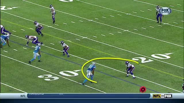 Watch and share Xavier Rhodes Vs. Calvin Johnson Pass Interference GIFs by BJ Reidell on Gfycat