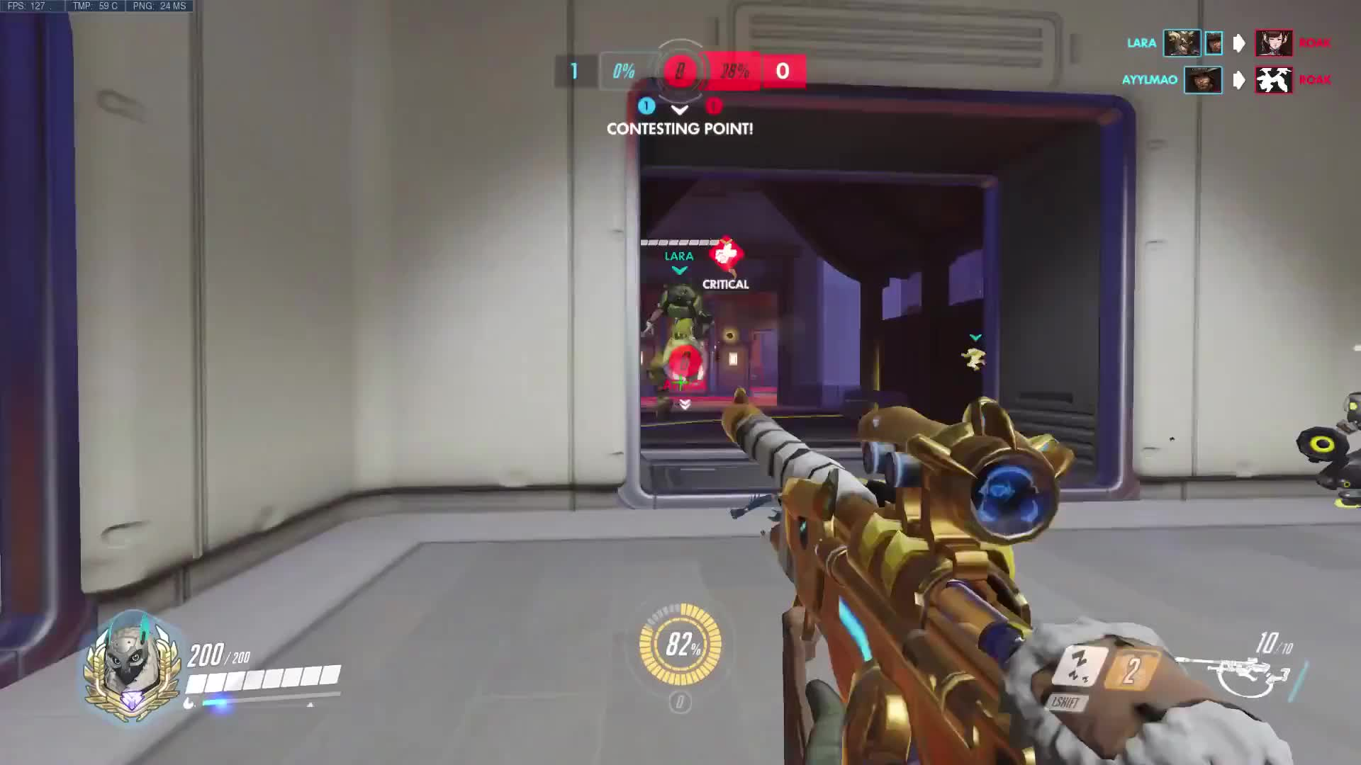 Ana, Overwatch, ...Satisfying GIFs