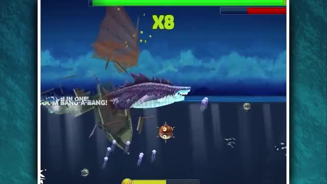 Watch and share Sharkjira Jumping GIFs by AzureBeast on Gfycat