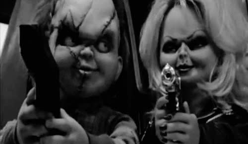 Watch and share Bride Of Chucky GIFs on Gfycat