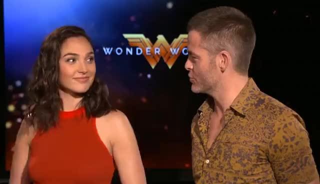 'Wonder Woman' Behind The Scenes GIFs