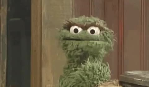 Watch and share Oscar The Grouch GIFs on Gfycat