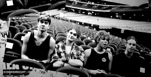 Watch and share 5 Second Of Summer GIFs and Black And White GIFs on Gfycat