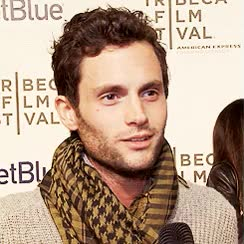 Watch and share Penn Badgley Just Stop Gif GIFs on Gfycat